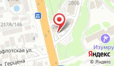 Отель Олеся на карте