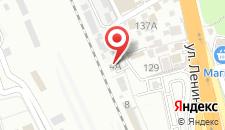 Апартаменты на Привокзальной на карте