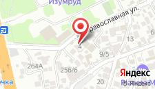 Мини-отель Ностальгия на карте