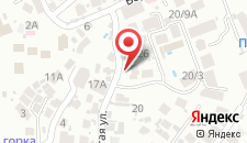Отель Аранда на карте
