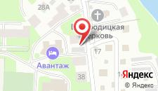 Хостел Авантаж на карте