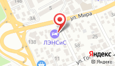 Гостиница ЛЭНСиС на карте