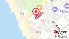 Отель Гранат на карте