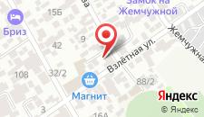Гостевой дом Гордеев на карте