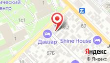Гостевой дом Морозова на карте