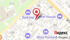 Гостевой дом На Морозова на карте