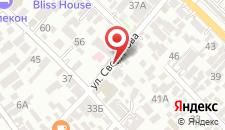 Гостевой дом Радуга на карте