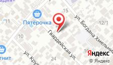 Гостевой дом У Сильвы на карте
