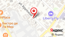 Отель Рица на карте