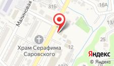 Отель Сапфир на карте