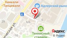 Бутик-Отель Адриано на карте