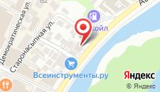 Мини-отель Лаверна на карте