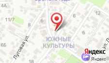 Гостевой дом Ветерок на карте