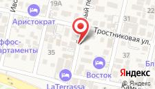 Бутик-Отель Тамара на карте