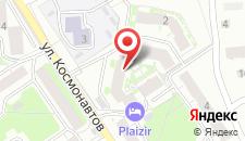 Мини-отель Plaizir на карте