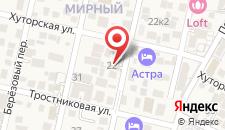 Гостевой дом Kamilla на карте