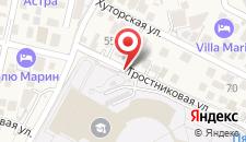 Гостевой дом Тростниковая на карте