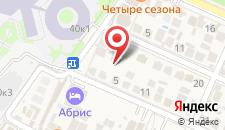 Отель Абрис на карте