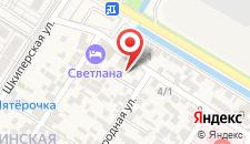 Мини-гостиница Кристи - Катрин на карте
