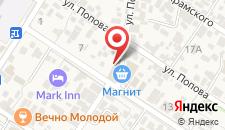 Отель Жемчужина Чёрного моря на карте