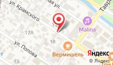 Апарт-отель Сертиди на карте