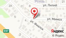 Гостевой дом На улице Мимоз на карте