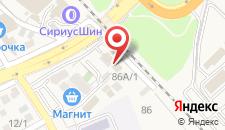 Гостиница САТТВА на карте