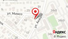 Гостевой дом На улице Акаций на карте