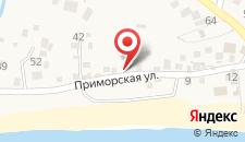 Гостевой дом Милена на карте