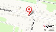 Мини-гостиница София на карте