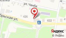 Мини-гостиница на Октябрьской на карте
