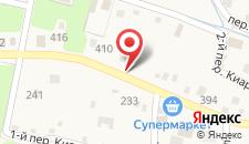 Гостевой дом на Октябрьской 25 на карте