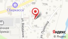 Гостевой дом Guesthouse on Pushkina 10 на карте
