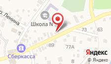 Гостевой дом На Октябрьской на карте