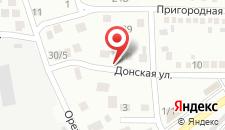 Гостевой дом На Донской на карте