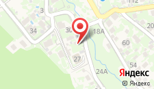 Гостиница Вилла Августа на карте