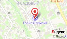 Отель Олимпия на карте