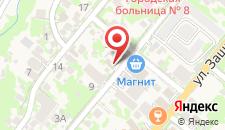 Гостевой дом На Поляне на карте