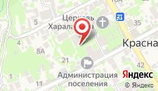 Апартаменты на Волоколамской на карте