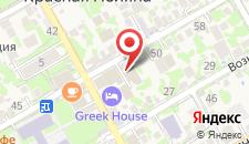 Апартаменты Горный Цветок на карте