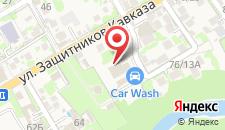 Апартаменты Династия на карте