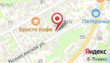 Апартаменты На Вознесенской на карте