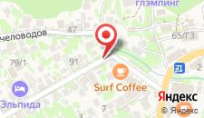 Гостевой дом Полянское Подворье на карте