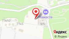 Апарт-отель Намасте на карте