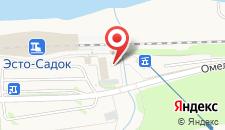 Отель Голден Тюлип Роза Хутор на карте