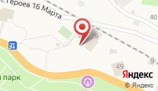 Отель Гагра на карте