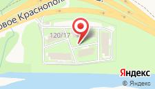 Отель АртАп Сити на карте
