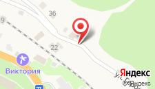 Отель Аквавизи на карте