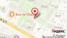 Апартаменты У Горки города на карте