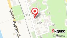 Отель Софья на карте